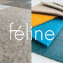 Upholstery fabrics - PET felt - Minimal art green 001 - FÉLINE