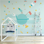Wall decoration - 'to the moon and back' - HAPPY FOLKS PROJECT