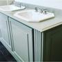Meubles pour salles de bains - Meubles de salle de bain en bois Oscar - ATELIERS MONTESPAN