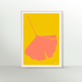 Wall decoration - Ginkgo Pop Limited Edition Screen Printed Posters - COMMON MODERN