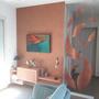 Décoration murale - Claustra Valse de Feuille - LA FEUILLE DE BOIS