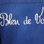 Apparel - Brooke - Ecological jeans jacket embroidered - BLEU DE VOUS