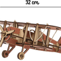 Decorative items - Biplan motif rouge - KELPI & GOMILLE