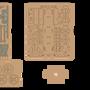 Toys - Locomotive motif bleu - KELPI & GOMILLE