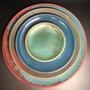 Ceramic - Luisa deco plate set - MAISON ZOE