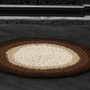 Bespoke - Dublin crochet rug in three shades  - MAISON ZOE