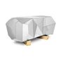 Consoles - Diamond Pyrite Sideboard - COVET HOUSE