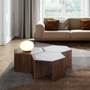 Decorative objects - Hexa Coffee / Side table  - WEWOOD - PORTUGUESE JOINERY