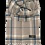 Scarves - cashmere scarf in natural color - ERDENET CASHMERE