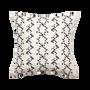 Fabric cushions - MERIDA PILLOW, Black - COUTUME