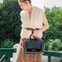 Gift - Leather bag, handbag JUNE - .KATE LEE