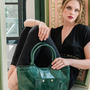 Bags and totes - Leather bag handbag DRESSY - .KATE LEE