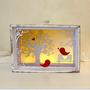 Decorative objects - LED drawer winter bird - KOELNSCHAETZE