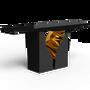 Console tables - Lapiaz Black Console Table  - COVET HOUSE