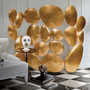 Sideboards - Gold Folding Screen  - COVET HOUSE