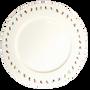 Assiettes de reception - Assiette à dîner Powderhound - POWDERHOUND