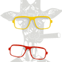 Decorative objects - GIRAFE removable glasses - LP DESIGN