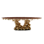 Tables - NEWTON GOLD MYRTLE Table à manger - BOCA DO LOBO
