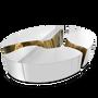 Tables basses - Table centrale ovale LAPIAZ - BOCA DO LOBO