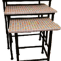 Tables basses - COFFEE TRIO PACK - IRON ART MOZAIC
