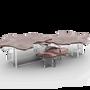 Coffee tables - MONET COPPER Center Table - BOCA DO LOBO