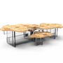 Tables basses - Table centrale MONET POPLAR - BOCA DO LOBO