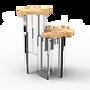 Tables - Table d'appoint MONET POPLAR - BOCA DO LOBO