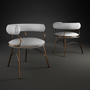 Chairs - Austin Dining Chair - PORUS STUDIO