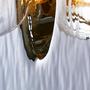 Suspensions - Suspension et applique en verre martelé MIRAGE - RADAR INTERIOR