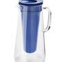Carafes - Filtering Carafe Glass, 1.7 L, LifeStraw Home, Blue - LIFESTRAW®