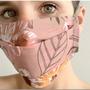 Foulards et écharpes - Semainier 7 masques en tissu norme Afnor Modèle Végétal  + 1 pochon rangement  + 2 pochettes de rangement  - LES LOVERS DECO