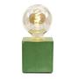 Table lamps - Concrete Lamp | Cube | Coloured Concrete - JUNNY