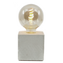 Objets design - Lampe à poser | Lampe Béton | Cube | Béton imprimé croco - JUNNY