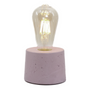 Table lamps - Concrete lamp | With metal ring | Colored concrete - JUNNY