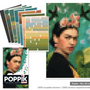 Games - Poster + 1600 stickers - FRIDA KAHLO - POPPIK