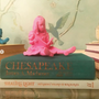 Sculptures / statuettes / miniatures - FIGURINE RESINE colori Rose - The Girl & the Book  - BLOOP
