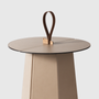 Leather goods - Leather Coffee Tables - PINETTI