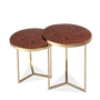 Dining Tables - Tarsia Side Table - MALABAR