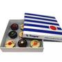 Chocolate - Marinière box 9 pompoms  - CHOCOLATERIE LE POMPON