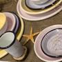 Cadeaux - Les assiettes Crackle  - ELIFLE ENAMELWARE