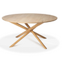 Dining Tables - Mikado round dining table - ETHNICRAFT