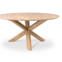 Dining Tables - Oak Circle dining table - ETHNICRAFT
