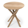 Tables consoles - Oak Mikado side table - ETHNICRAFT