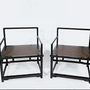 Chairs - Black Lacquered Armchairs - AZEN