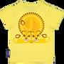 Mode enfantine - T shirt manches courtes imprimé recto verso Tigre - COQ EN PATE