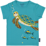 Mode enfantine - T shirt manches courtes imprimé recto verso Tortue - COQ EN PATE