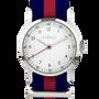 Bijoux - Bracelet de montre Millow Rayé Rouge - MILLOW PARIS