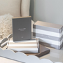 Homewear - Cadre feuille d'argent et fleur d'ivoire - ADDISON ROSS