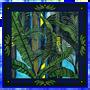Foulards et écharpes - Foulard / carré - ORIENT 90 - imprimé 100 % twill de soie - 90 x 90 cm - roulotté à la française - Maison Fétiche - MAISON FÉTICHE