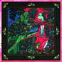 Cadeaux - OISEAUX DU PARADIS 45 - carré / foulard imprimé 100 % twill de soie - 45 x 45 cm - roulotté à la française - MAISON FÉTICHE